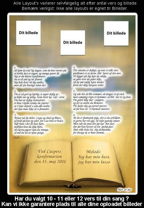 Bible design til festsange