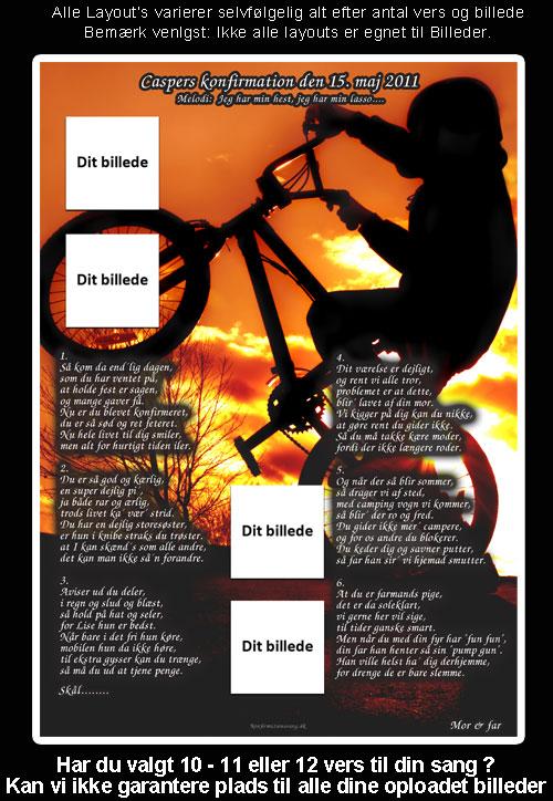 BMX design til festsange