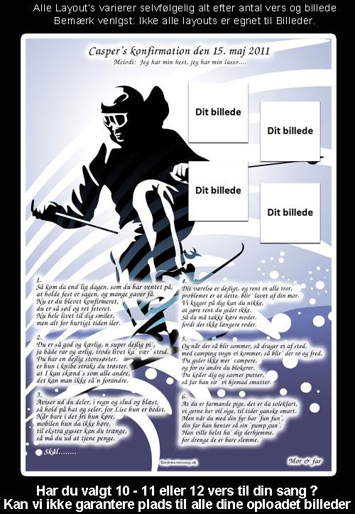 Ski Design til festsange