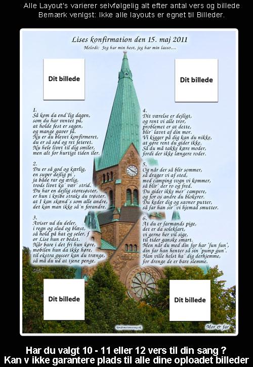 Kirke design til festsange